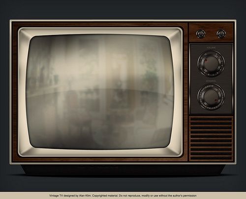 old television photo